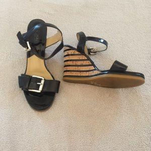Michael Kors | Leather | Wedge | Heels